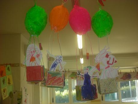 Costruire Mongolfiere Nella Scuola Dellinfanzia Paperblog