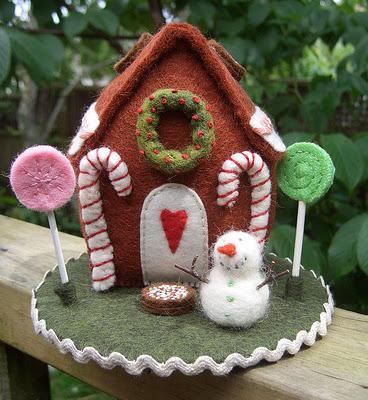 Dolci di natale in feltro paperblog - Decorazioni natalizie per dolci ...