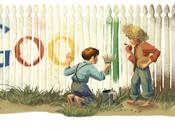 doodle Google dedicato Mark Twain suoi personaggi
