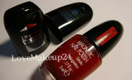 Pupa: Magnetic Nail Kit in Red