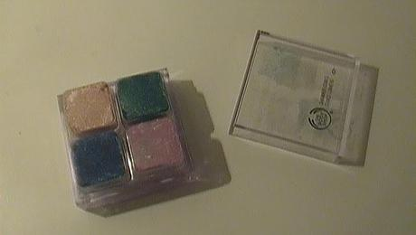 THE BODY SHOP Shimmer Cubes Palette