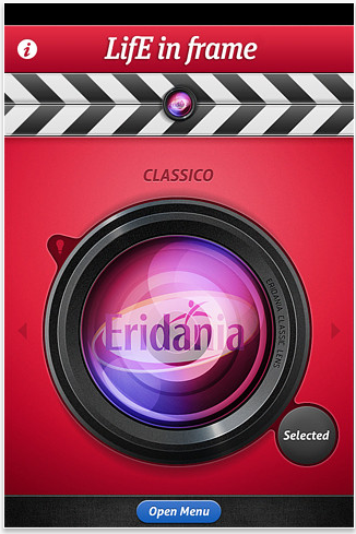 LifE in frame by Eridania, l'app per stop motion