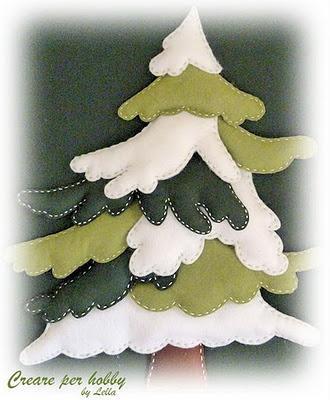 Lavoretti Di Cucito Per Natale.Cucito Creativo Un Nuovo Alberello Di Natale In Panno