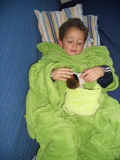 Plaid Con Maniche Per Bambini.Kanguru La Coperta Con Le Maniche Paperblog