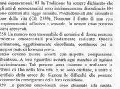 Catechismo della Chiesa Cattolica. Castità omosessualità.