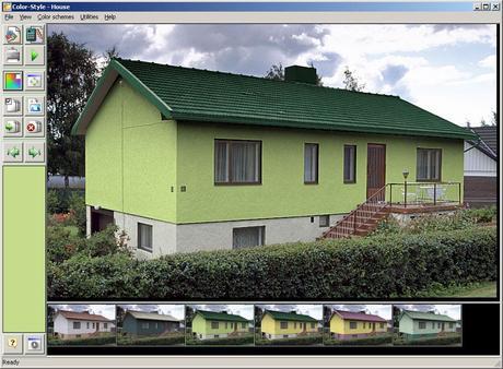 Simulatore virtuale di pittura per le vostre pareti di for Simulatore di costruzione di case online