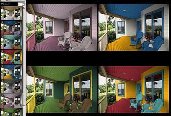 Simulatore virtuale di pittura per le vostre pareti di for Programma per casa virtuale