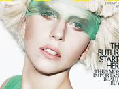 Lady Gaga ELLE January 2012 Issue
