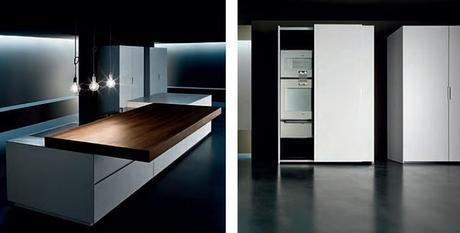 Cucina minimal a scomparsa design minimal cucine paperblog for Cucina minimal