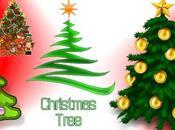 clipart tema l'albero Natale