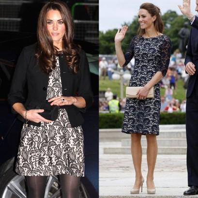 Zara Kleid Kate Middleton