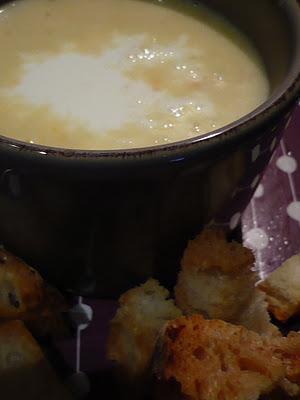 Aspettando il freddo: vellutata con crostini.