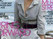 Meryl Streep Cover Vogue, January 2012 Annie Leibovitz