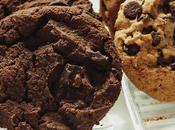 Biscottoni gocce cioccolato fondente Cookies!