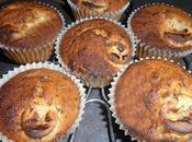 Vegan muffin banana gocce cioccolato