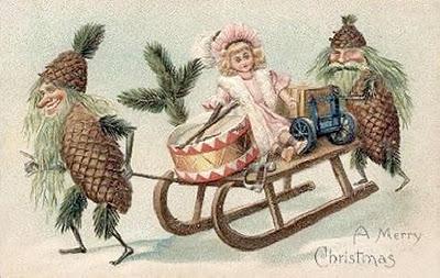 Antiche Immagini Di Natale.Antiche Cartoline Di Natale Paperblog
