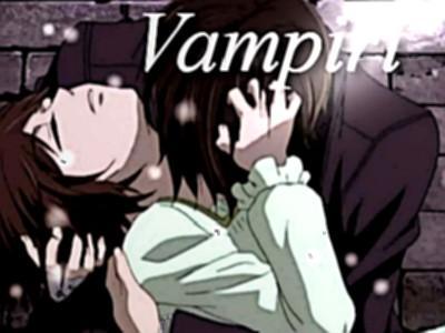 Vampiri nel mondou anime paper