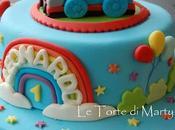 Cake design for my blog paperblog for Decorazioni torte trenino thomas