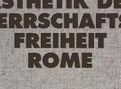 Rome Æsthetik Herrschaftsfreiheit