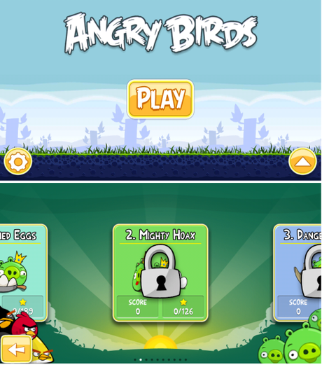 Angry Birds : Versione Full 288 livelli su Nokia Store