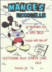 23 Dicembre all'Arci Dallò: THE MANGES + RICCOBELLIS