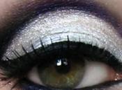 Trucco Capodanno 2012: brillante toni dell'argento