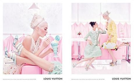 Louis Vuitton SS '12 advertising campaign
