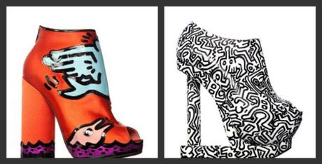 Keith Haring Style- Diaries and shoes