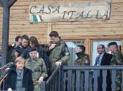 "Kosovo/ KFOR ""Casa Italia"". visita Cancelliere Merkel"