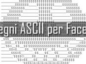 Galleria disegni ASCII Facebook