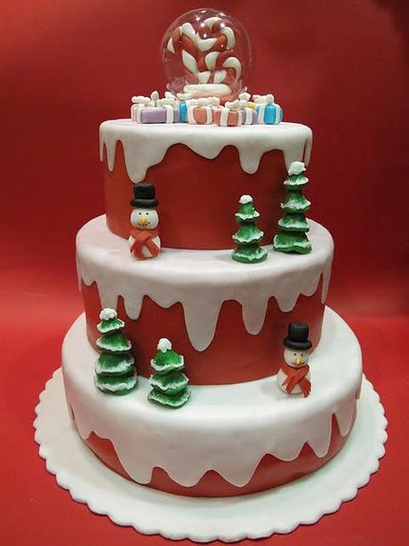 More like this: cake designs , christmas birthday and cake .