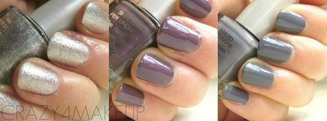 Review & Swatches BOTTEGA VERDE ''Crystal Collection'' Smalto per Unghie