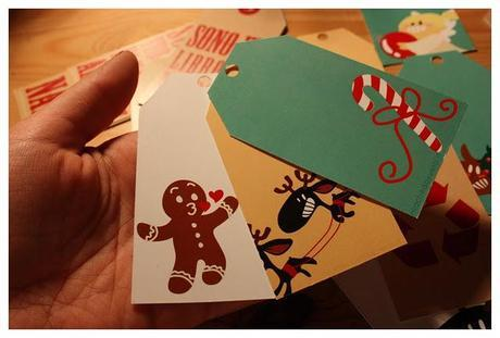 Christmas idea: Gift tags by