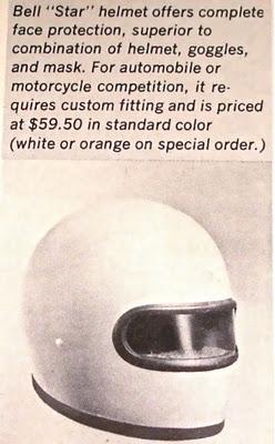 Bell Racing Helmets >> First full face helmet Dan Gurney 1968 : formula1