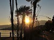 Visioni luminoso inverno lago Maggiore.