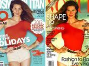 stessa foto Gisele Bundchen Cosmopolitan Australia Gennaio 2012 Vogue Aprile 2010 Same cover January April