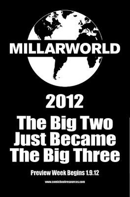 MARK MILLAR: NEL 2012 LE MAJOR DIVENTERANNO TRE!