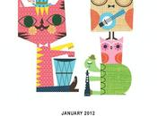 "Patterns disegni gufi, civette barbagianni calendario 2012 barn"""