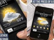 Lock Screen Weather Previsioni tempo iPhone iPod touch