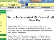 Flavio Cattaneo: Sostenibilità STOXX Terna leader secondo indici mondiali
