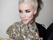 Daphne Guinness, swan high heels