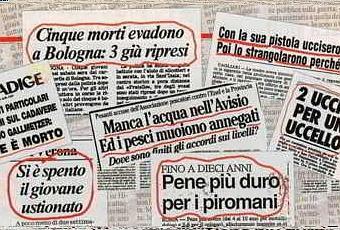 I 10 titoli di giornale pi assurdi per notizie vere for Resoconto tratto da articoli di giornali