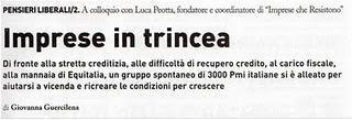 Luca Peotta e Impresecheresistono « IMPRESECHERESISTONO