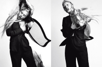 A BIONIC GAGA FOR L'UOMO VOGUE