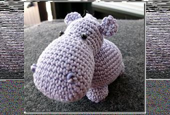 Ippopotamo Amigurumi Crochet : amigurumi hippo free pattern - Paperblog