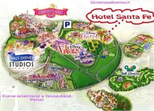 Camere Santa Fe Disneyland : Disneyland parigi : dove alloggiare prima parte : gli hotel a 2