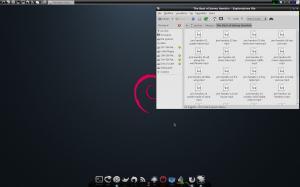 Sbavando sul pc: La mia Sexy Debian :D