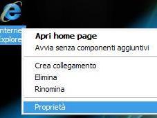 Ripristinare Internet Explorer pochi click