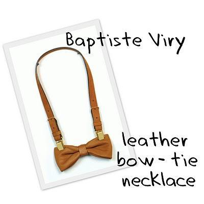 Bow Tie Necklaces