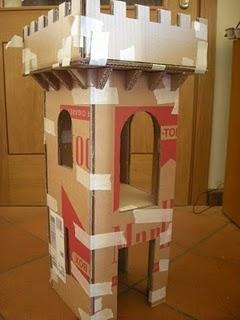 Il castello di cartone del principe filippo 1a puntata for Costruire una torre di osservazione